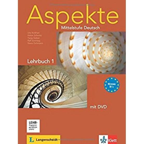 Aspekte Mittelstufe Deutsch Lehrbuch 1 B1+