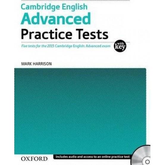 Cambridge English Advanced Practice Tests Mark Harrison