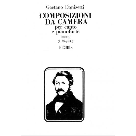 Composizioni da camera per canto e pianoforte - Volume 1