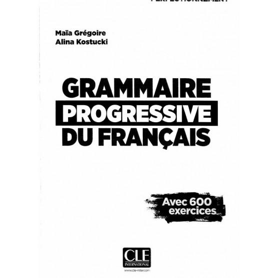 Grammaire progressive du francais - Gregoire